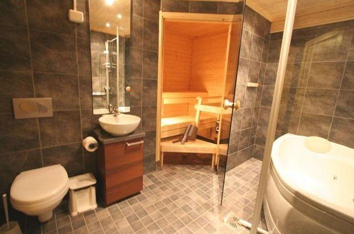 Дизайн бани с туалетом